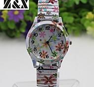 Women's Fashion Simplicity Quartz Flowers Bracelets Analog Wrist Watch Cool Watches Unique Watches