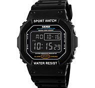 SKMEI® Square Digital Sports Watch Chronograph / Alarm / Calendar / Water Resistant Cool Watch Unique Watch