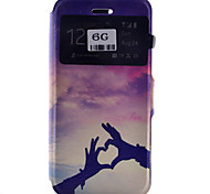New Type Cikou Pull Gesture Pattern Cards Phone Case for iPhone 6/6S