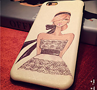 Fashion Girls Pattern High Quality PU Leather and TPU Back Case for iPhone 6/iphone 6S(Assorted Colors)