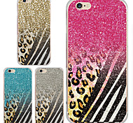 MAYCARI®Wonderful Leopard Print Transparent Soft TPU Back Case for iPhone 6/iphone 6S(Assorted Color)