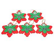 Navidad - Rojo - Textil - Adornos -