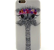 alpaca caso padrão TPU para iphone 6s / 6