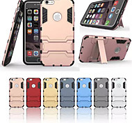 Super Protection TPU+PC 2in1 Combo Bracket Shell Protective Sleeve for iPhone 6/6S (Assorted Color)