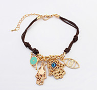 European Style Fashion Astral Funny Eyes Palm Bracelet