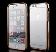 pantalla táctil transparente caja de cuerpo completo para iphone 6 (color assorteed)