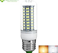 E27 8W 72 x 5730SMD 800LM Warm White / Cool White LED Corn Light Bulb Lamp Energy Saving Led Light (220-240V)