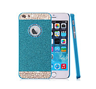 Top Fashion Glitter Powder Rhinestone Bling with Hole Hard Back Case for iPhone 5/5S(Assored Colors)