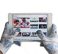 2015 New Winter Men Women Touch Screen Glove Texting Capacitive Smartphone Knit(Random Color)