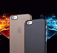 Scrub Semipermeable Official Soft PC Cellphone Case for iPhone 6s 6 Plus