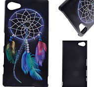 For Sony Case / Xperia Z5 / Xperia Z3 Pattern Case Back Cover Case Dream Catcher Hard PC for SonySony Xperia Z5 / Sony Xperia Z5 Compact