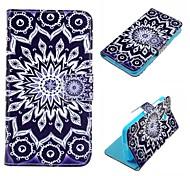 Sunflower Pattern PU Leather Case for Nokia Lumia 630