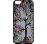Tree Pattern PC Material Phone Case for iPhone 5C