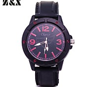 Men's Fashion Quartz Analog Silicon Sport  Bracelet Watch(Assorted Colors)