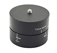 Ourspop GP289A 360 Degrees 60min Panning Rotating Time Lapse Stabilizer Tripod for GoPro/ Xiaoyi/ Sony Cameras
