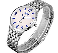 Men's  Watch BOSCK Super Thin Steel Tape Waterproof Gift Business Quartz Watch
