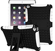 Miitary Army Plastic+Silicone Rubber Gel 2 in 1 Shockproof Hard Case With Stand Cover for iPad 2/3/4(Assorted Colors)