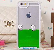 For iPhone 6 Case Transparent Case Back Cover Case Cartoon Hard PC iPhone 6s/6