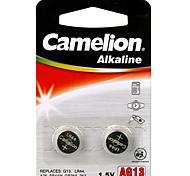 Camelion Alkaline Button Cell  Size AG13 (2pcs)