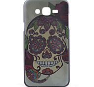 Skull Pattern PC Material Cell Phone Case for Samsung Galaxy J1/J5/J7