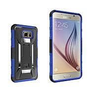 Pour Samsung Galaxy Note Avec Support Coque Coque Arrière Coque Armure Polycarbonate Samsung Note 5