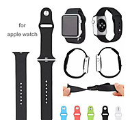 Silicone Original 1:1 Wearables Straps 38mm/ 42mm Watch Band for Apple Watch Assorted Colors