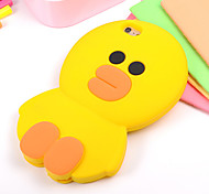 Cute Little Yellow Duck Stereo Silicone Cases for iPhone6/iPhone 6s(Assorted Colors)