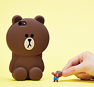 Solid Bear Silicone Anti Fall Protection Cases for iPhone 6 Plus/iPhone 6S Plus(Assorted Colors)