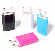Universal Eu Plug Usb Power Home Wall Charger Adapter for Iphone6s/Iphone6 and Others (Assorted Colors)