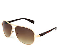 Sunglasses Men's Classic / Fashion Oversized Gold Sunglasses Full-Rim