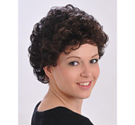 Fashion Middle Length Wig Top Quality Synthetic Attractive Women's Short Wig
