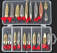 Esche rigide / Esca Confezioni di esche / Esche rigide / Cucchiai / Esca metallica 2.5-10 g Oncia mm pollice 20 pcPesca a mulinello /