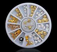 Jóias de Unhas - Adorável - para Dedo - de Metal - com 1PCS - 6CM - (cm)