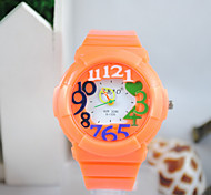 Children's Silicone Fashion Wrist Watch