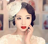 Elegant Lace Hat Fascinators for Party