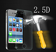 Splitterschutzantischlag 2.5d 9h 0,33 mm Ex-Sicherheitsglas Displayschutzfolie für iPhone 4 / 4S