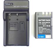 US/UK/EU 8.4V EN-EL9/EL9A Home Charger +(1PCS)Battery  for Nikon D5000 D3000 D60 D40 D40X
