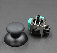 3D Joystick PS2 Game Rocker+Mushroom Caps