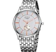 Men's  Watch BOSCK Super Thin Steel Tape Waterproof Gift Business Quartz Watch