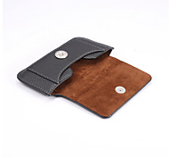 Universal Belt Clip Buckle Up and Down to Open the Lateral Plate Pockets PU Leather for iPhone 5s/4s