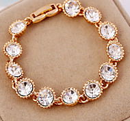 May Polly  All-match fashion diamond ring String Bracelet