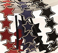 Leather Rivet Star Pentagram Headbands