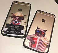 The Cat and Dog in the Film Festival Personality Protection Shell for iPhone6/iPhone 6s(Assorted Colors)