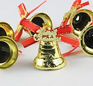 Navidad - Dorado - Metal - Adornos -