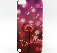 pattern pintura leão TPU soft case para o iPod touch 5