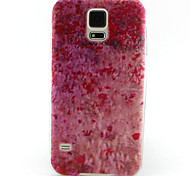 cherry poeder painting patroon TPU zachte hoes voor Samsung Galaxy S3 mini / mini s4 / s5 mini