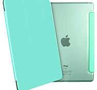 esr yippee série de couleur ipad air 2 ultra mince poids léger smart cover fond transparent