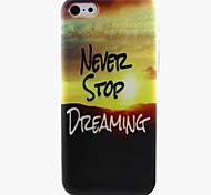 Sunset Pattern TPU Soft Phone Case for iPhone 5C