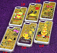 Quicksand Cute Yellow Duck Cases for iPhone 5/5S(Assorted Colors)