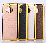Football Grain Line Leather Metal Fdge Case Back Cover For HTC M9 plus(Assorted Color)
